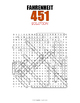 Fahrenheit 451 Word Search Puzzle