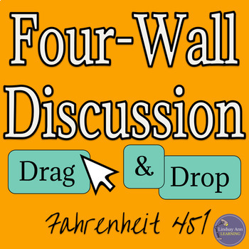 PreReading Four-Corner Discussion for Fahrenheit 451 by Ray Bradbury