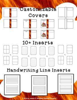 Fahrenheit 451 by Ray Bradbury Character & Plot Analysis Mini Fold-Ems