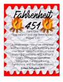 Fahrenheit 451 by Ray Bradbury Part One: Pages 1-29 Guide