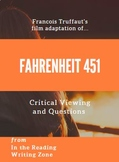 Fahrenheit 451 film (1966): Critical Viewing and Questions