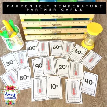 Fahrenheit Temperature Partner Cards