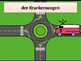 Fahrzeuge (Vehicles in German) power point
