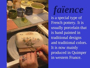 Faience PPnt and Student Project