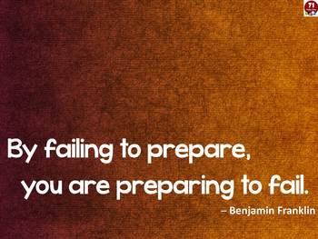 Failing to Prepare Poster
