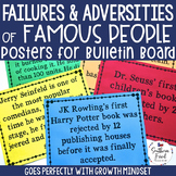 Failures of Famous People Bulletin Board Posters