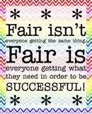 Fair Poster Chevron