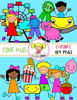 Fair Clipart {Kids Clipart}