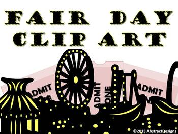 Fair Day CLIP ART