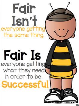 Fair Is, Fair Isn't... Poster FREEBIE