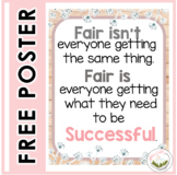 Fair Isn't Everyone Getting the Same Thing    POSTER