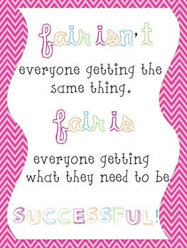 Fair Isn't - Poster!