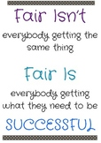 """""""Fair Isn't...Fair Is..."""" poster"""