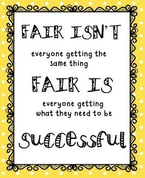"""""""Fair"""" Poster Freebie"""