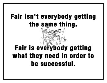 Fair Quote Poster