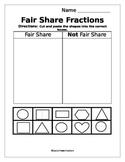 Fair Share Fractions