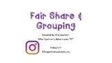 Fair Share & Grouping Task Cards