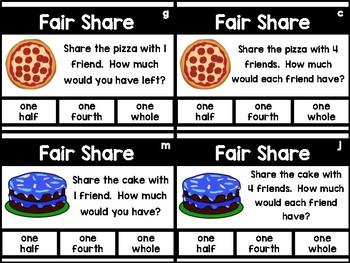 Fair Share Task Cards - Set 3