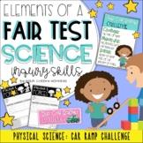 Fair Test Investigation: Car Ramp Challenge // Science Inq