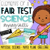 Fair Test Investigation: Paper Plane Challenge // Science