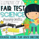 Fair Test Investigation: Plant Growth Conditions Experiment