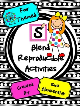 "Fair Themed ""S"" Blend Reproducible Activities"