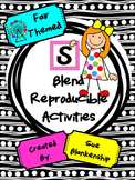 "Fair Themed ""S"" Blend Reproducible Activities"