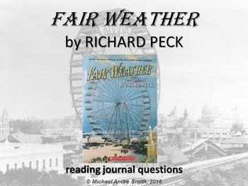 Fair Weather - Journal Response Questions - Richard Peck