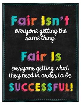 Fair is... Poster! FREEBIE!