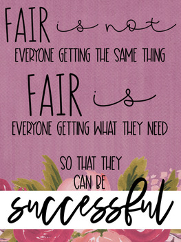 Fair isn't Equal Band-Aid Lesson: Perfect for Back to School
