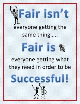 Fair isn't getting poster