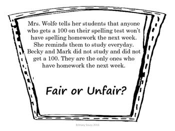 Fair or Unfair?