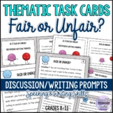 Fair or Unfair? Thematic Conversation and Writing Task Car