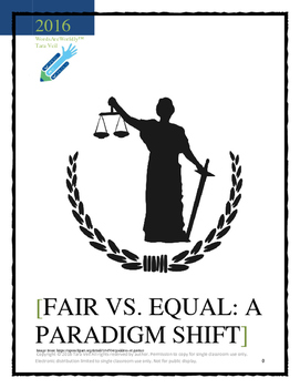 Fair vs. Equal: A Paradigm Shift