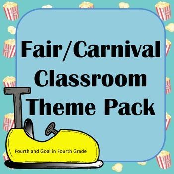 Fair/Carnival Classroom Theme