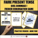 Faire Present Tense Game - Quel Dommage!