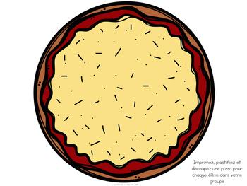 Faire de la pizza en fusionnant - FRENCH segmenting/blending pizzas