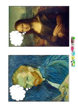 Faire parler les personnages des tableaux célèbres