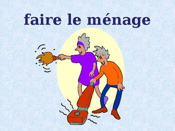 Faire French verb power point