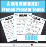 Faire present tense conjugation practice - À vos marques, prêts, partez!