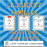 Faire with Sports - Le jeu des 7 familles - French Card Game
