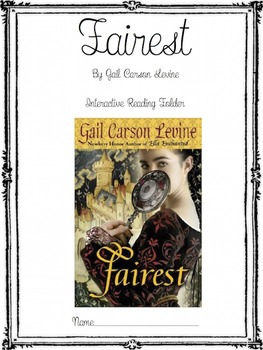 Fairest by Gail Carson Levine - Complete Novel Unit