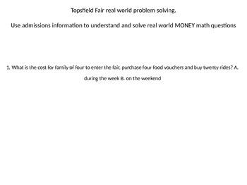 Fairground Math