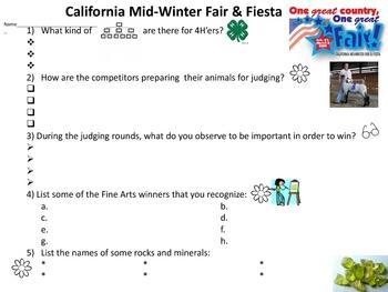 Fairgrounds Fieldtrip Packet
