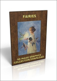 Fairies - 50 lovely out of copyright Fairy Illustrations to use for anything!
