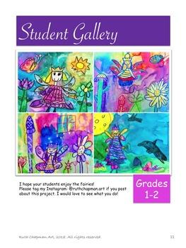 Fairies: Art Lesson for Grades 1-3