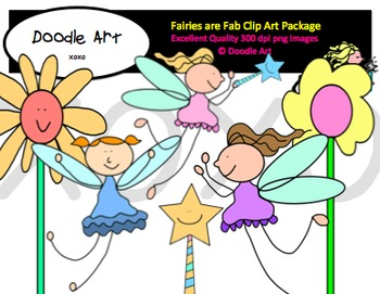 Fairies are Fab Clipart Pack