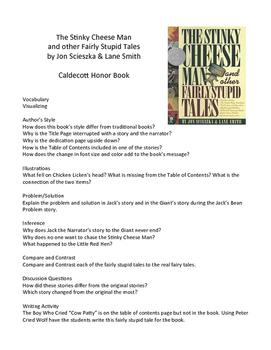 Fairly Stupid Tales by Jon Scieszka – Teaching Literary Sk