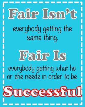Fairness Poster