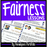 Character Education FAIRNESS Lessons and Activities